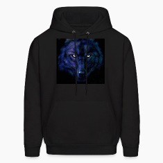 dark wolf Hoodies