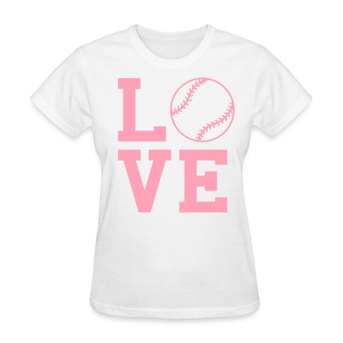 Love Baseball Women's T-Shirt - Women's T-Shirt