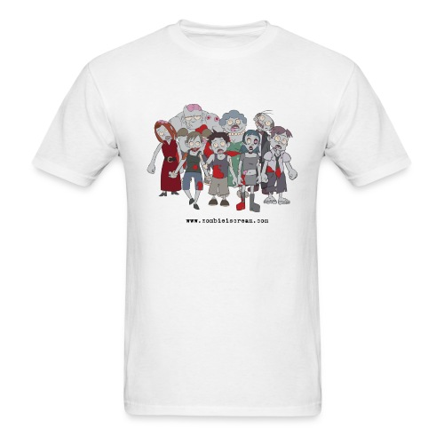 The Zombie Clan - Men's T-Shirt