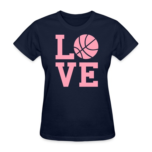 Love Basketball Women's T-Shirt - Women's T-Shirt
