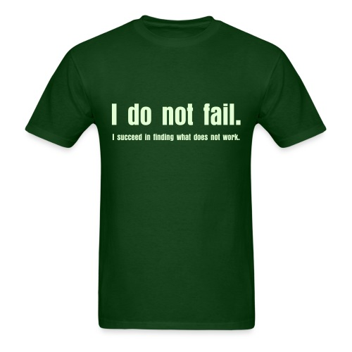 NO FAIL - Men's T-Shirt
