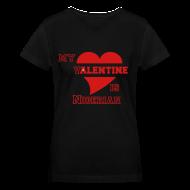 Women's T-Shirts ~ Women's V-Neck T-Shirt ~ Nigerian valentine