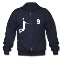 Men's Zip Hoodie with design