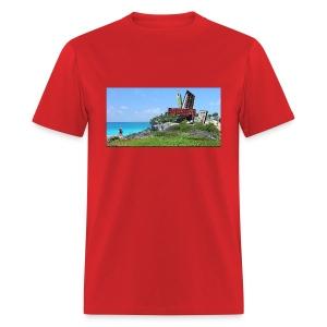 Do Not follow - Synth Ruins T Shirt - Men's T-Shirt