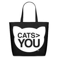 Bags & backpacks ~ Eco-Friendly Cotton Tote ~ Cats > You