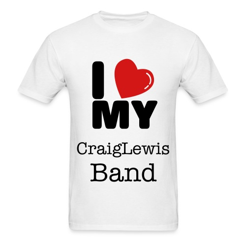 CraigLewis Band Tee - Men's T-Shirt