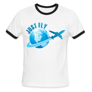 Just Fly T-Shirt - Men's Ringer T-Shirt