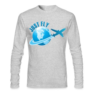 Just Fly Long Sleeve T-Shirt - Men's Long Sleeve T-Shirt by Next Level
