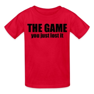 You just lost the game shirt - Kids' T-Shirt