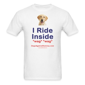 Official Dogs Against Romney Labrador Tee - Men's T-Shirt