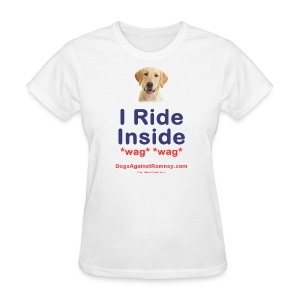 Official Dogs Against Romney Labrador Tee - Women's T-Shirt
