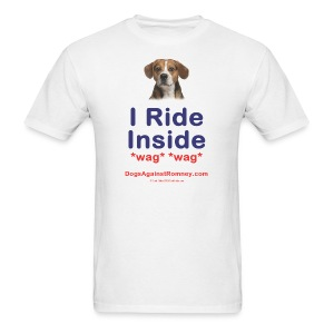 Official Dogs Against Romney Beagle Tee - Men's T-Shirt