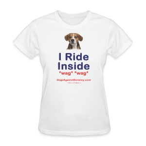 Official Dogs Against Romney Beagle Tee - Women's T-Shirt