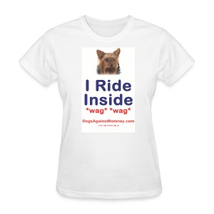 Official Dogs Against Romney Yorkie Tee - Women's T-Shirt