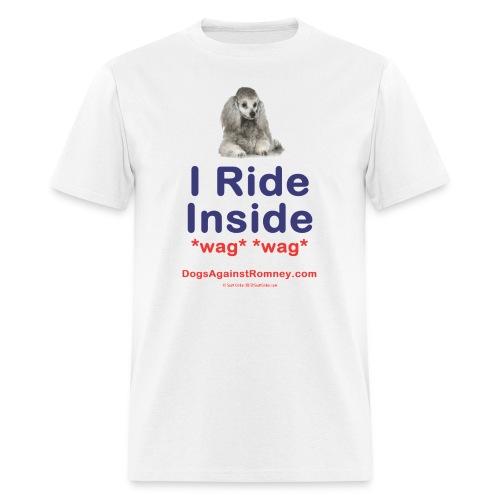 Official Dogs Against Romney Poodle Tee - Men's T-Shirt