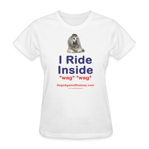 Official Dogs Against Romney Poodle Tee - Women's T-Shirt