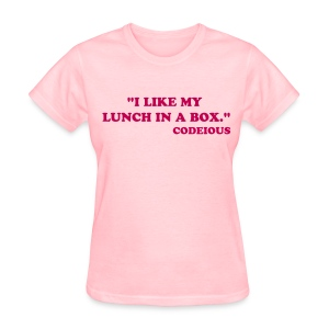 I Like My Lunch In A Box - Women's T-Shirt