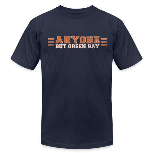 Anyone But Green Bay - Men's Fine Jersey T-Shirt