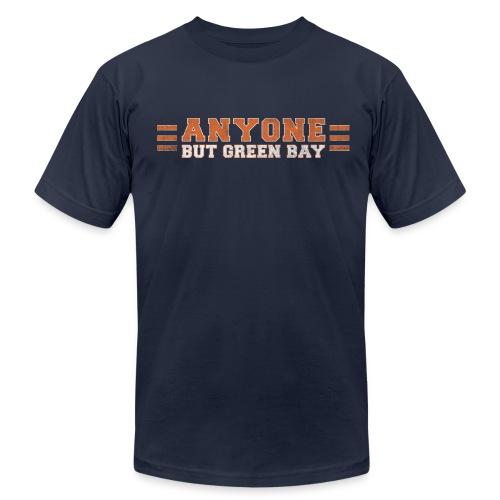 Anyone But Green Bay - Men's  Jersey T-Shirt