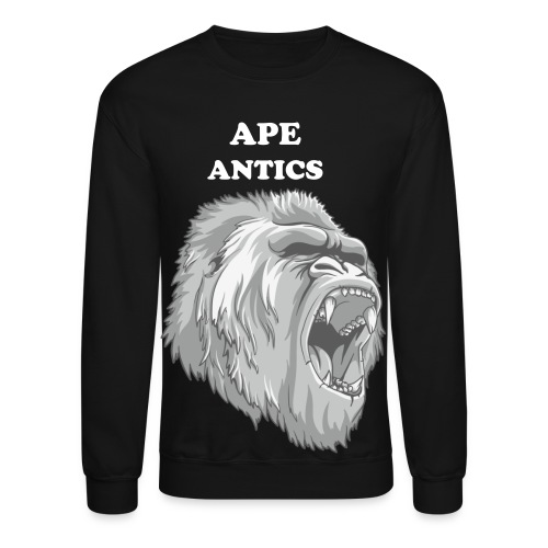 Ape Antics - Crewneck Sweatshirt