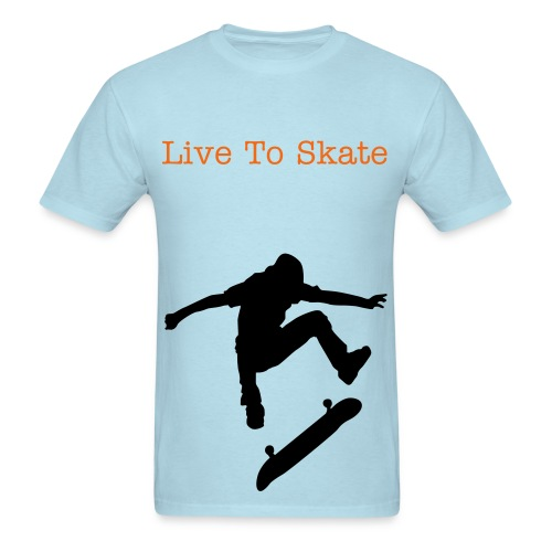Live To Skate Top (Guys) - Men's T-Shirt