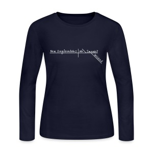 Wicked Smaaht - Women's Long Sleeve Jersey T-Shirt