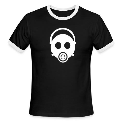 Gas Mask T - Men's Ringer T-Shirt