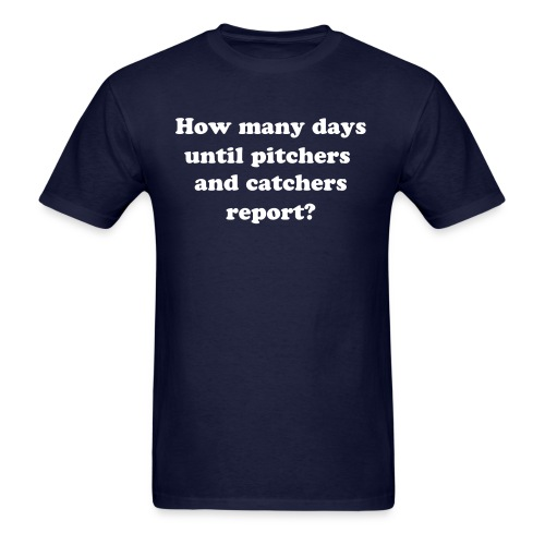 Pitchers and Catchers - Men's T-Shirt