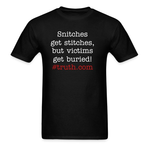 Victims of Violent Crime - Men's T-Shirt