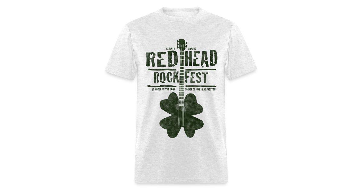 2bbcc14a Redheads Rock   Redhead Rock Fest - Mens T-Shirt
