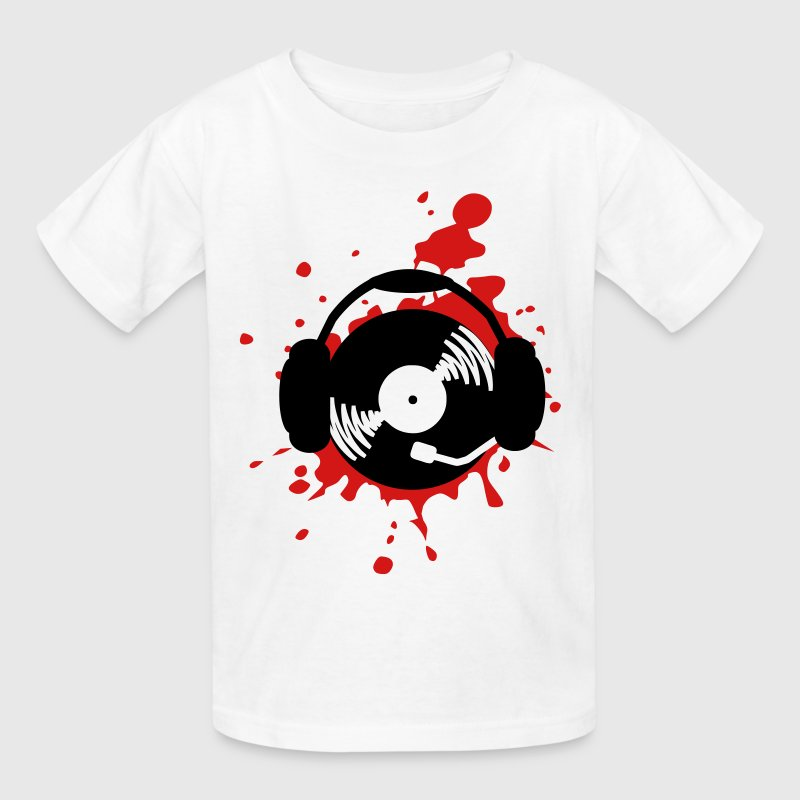 Music splatter dj design t shirt spreadshirt Music shirt design ideas