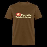 T-Shirts ~ Men's T-Shirt ~ Library (#2)