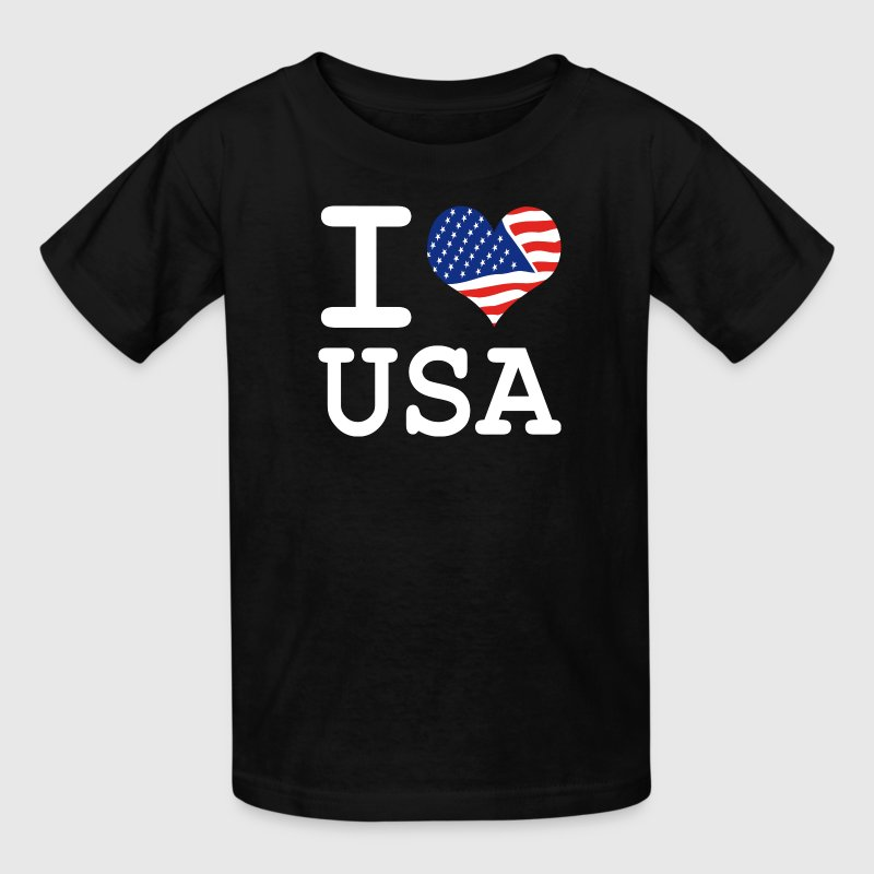 i love USA Kids' Shirts - Kids' T-Shirt