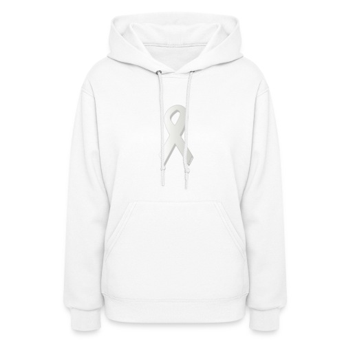 Lung Cancer Awareness - Ladies - Women's Hoodie