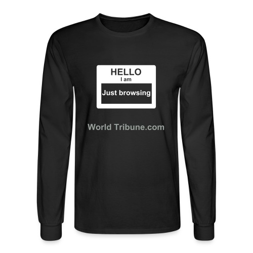 Browser - Men's Long Sleeve T-Shirt