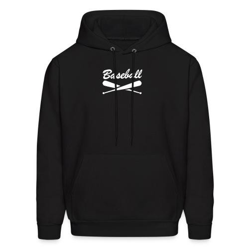 Baseball crossed bats sweatshirt - Men's Hoodie