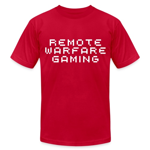 Remote Warfare Gaming T-Shirt - Men's Fine Jersey T-Shirt