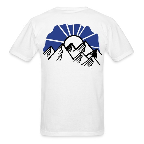 over the mountain - Men's T-Shirt