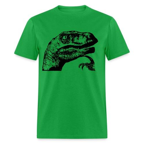 Philosoraptor - Men's T-Shirt