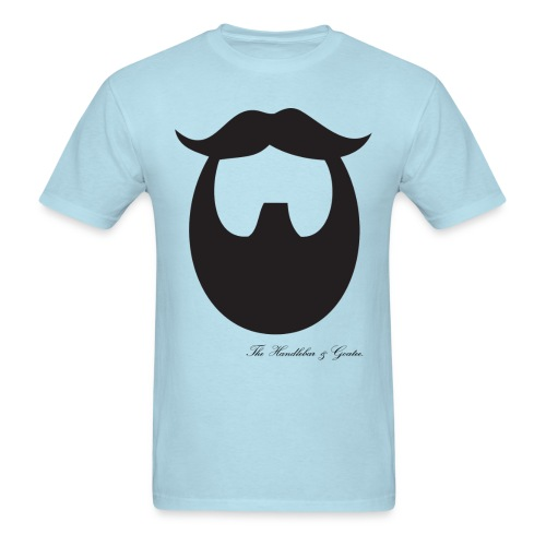 The Handlebar & Goatee - Men's T-Shirt
