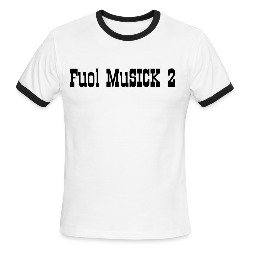 Fuol MuSICK Official T-Shirt - Men's Ringer T-Shirt