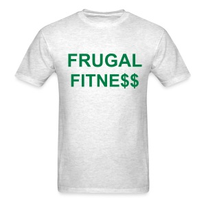 Frugal Fitness Plain T-Shirt - Men's T-Shirt