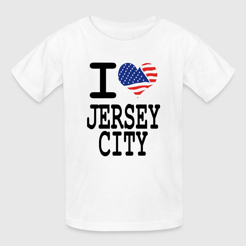 i love jersey city Kids' Shirts - Kids' T-Shirt