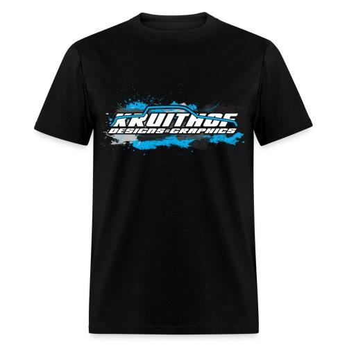Kruithof Designs Black Grunge Tee - Men's T-Shirt