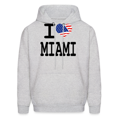 i love miami Hoodies