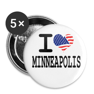 i love minneapolis Buttons