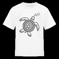 Kids' Shirts ~ Kids' T-Shirt ~ Sea Turtle Coloring T-shirt