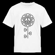 Kids' Shirts ~ Kids' T-Shirt ~ Hearts Flower Coloring T-shirt -2