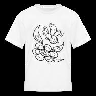 Kids' Shirts ~ Kids' T-Shirt ~ Bumble Bee Coloring T-shirt