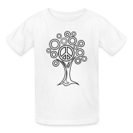 Kids' Shirts ~ Kids' T-Shirt ~ Peace Tree Coloring T-shirt